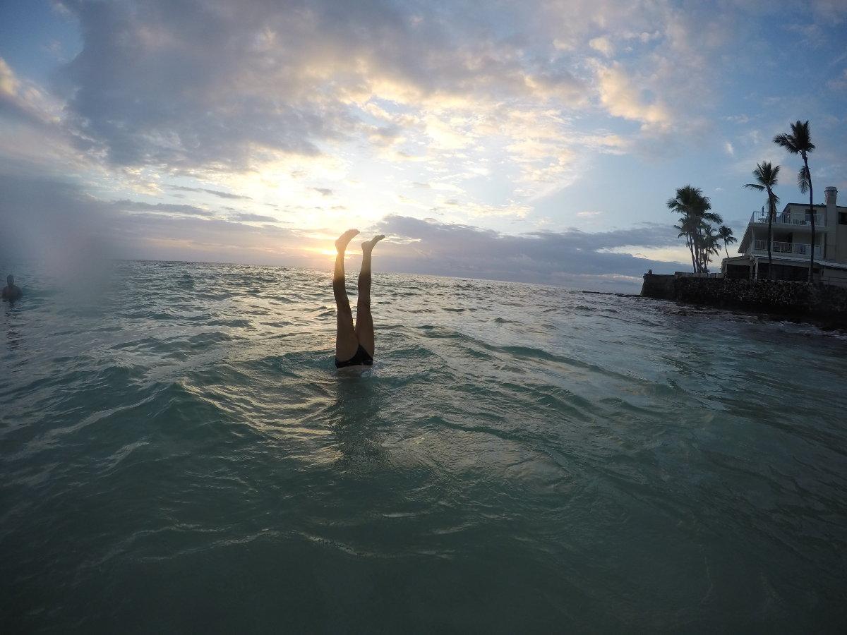New GoPro Shots at Magic Sand Beach in Maui