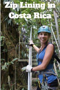 Pin it: Zip Lining in Costa Rica
