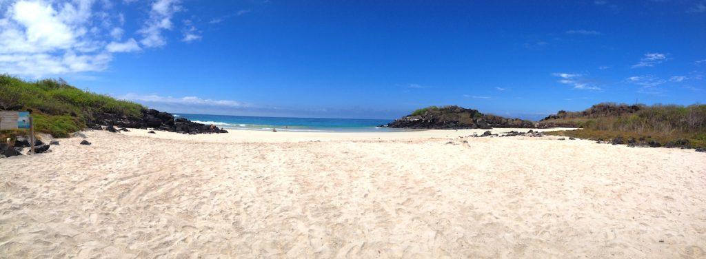 The most beautiful beach on San Cristobal: Puerto Chino.