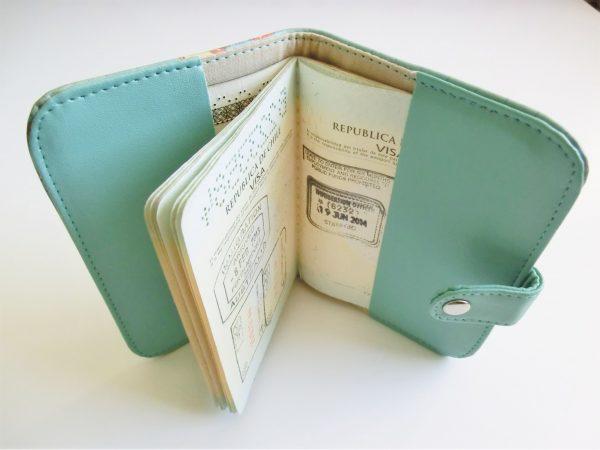 jeyjetter.com: World Map Printed Passport Holder