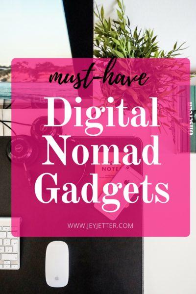 Must-Have Digital Nomad Gadgets