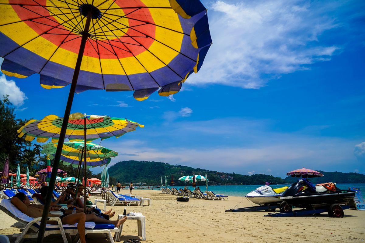 Thailand Itinerary: Patong beach, Phuket