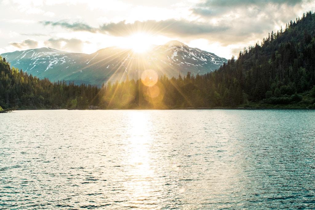 Beautiful scenery awaits you when visiting Alaska.